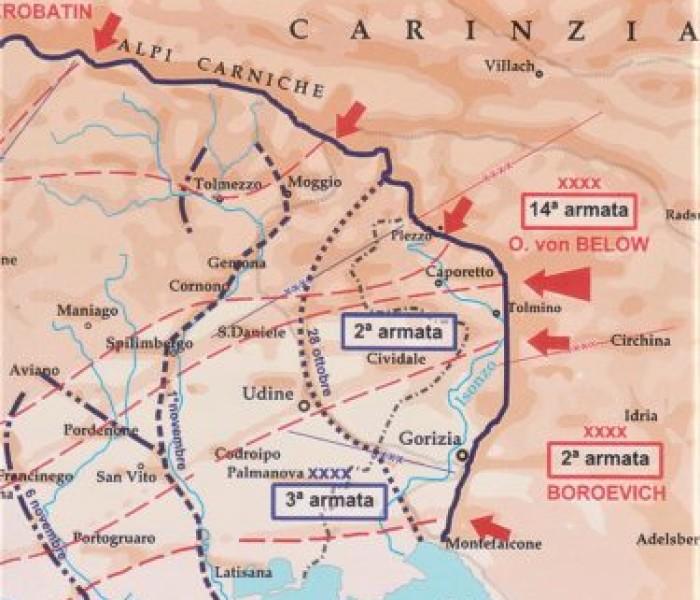 Francesco Jori,  Caporetto. La grande Battaglia, Ed. Biblioteca dell'immagine 2017