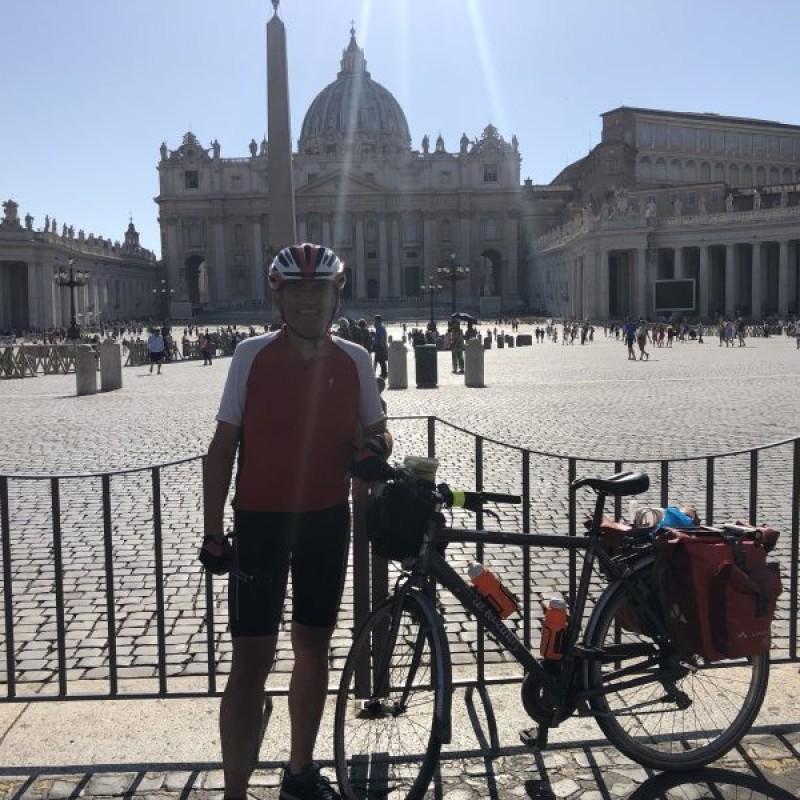 Via Francigena in bici tra fede, storia, natura e bellezza